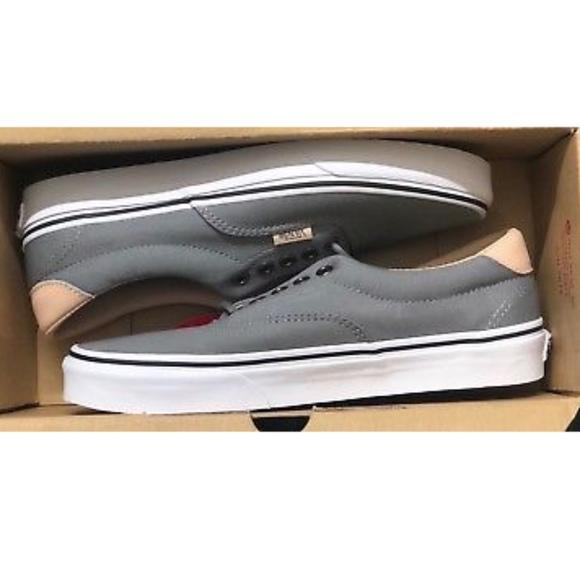 5a611e985cd20a Vans Era 59 Veggie Tan Frost Grey True White Shoes